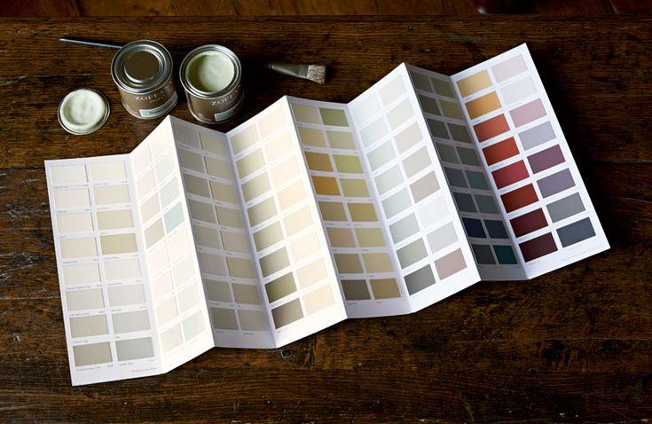 Zoffany Paint Charts Available