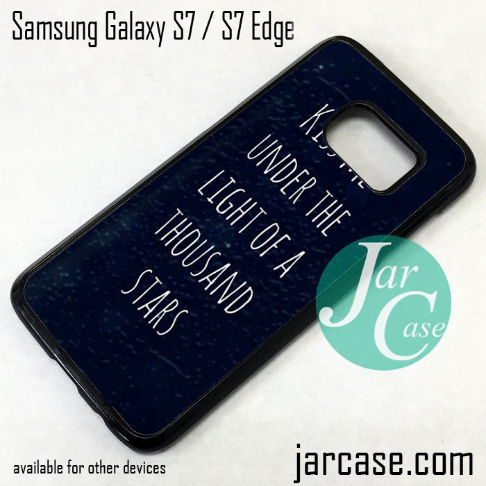 Coldplay Lyrics 3 Phone Case for Samsung Galaxy S7 & S7 Edge