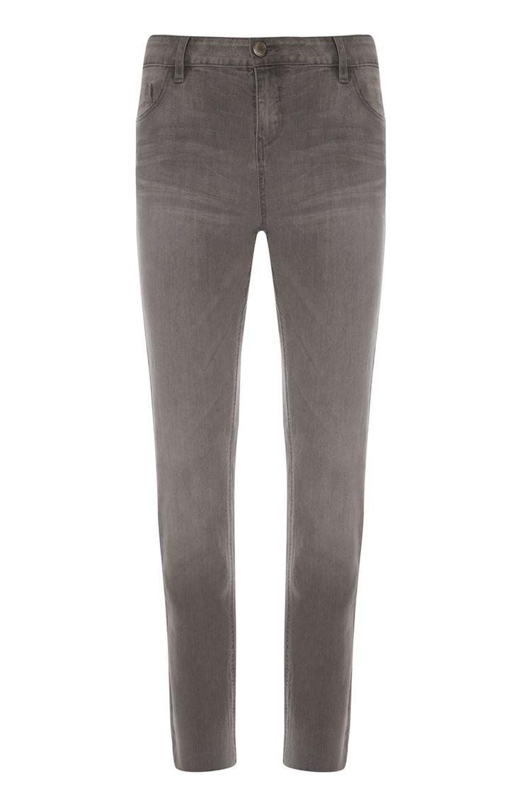 Primark - Comfortabele grijze skinny jeans
