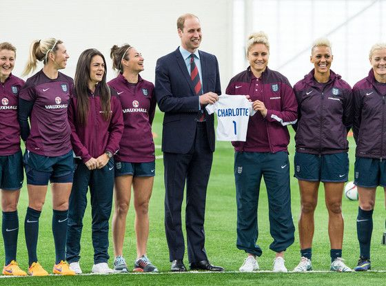 Prince William's Daughter Princess Charlotte Keeping Him Up at Night, Gets Baby Gift From Women's Soccer Team