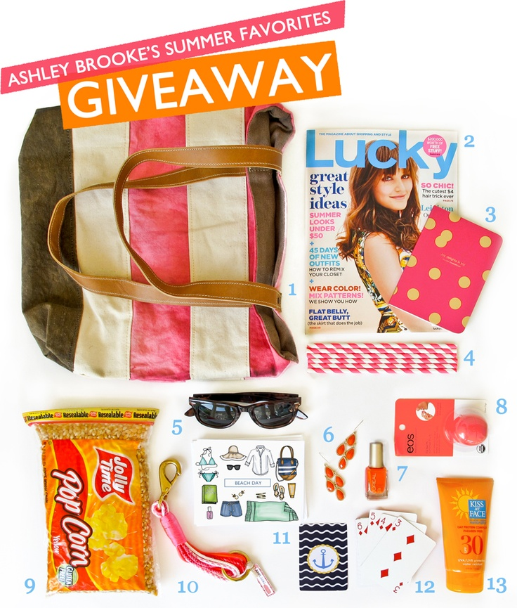 My Summer Favorites Giveaway is here!!! Head on over to the blog to enter for your chance to win this box of goodies!! Enter here--> http://t.co/De0e11sQ P.S. Don't forget to facebook, tweet, and repin this for extra entries! (giveaway ends on June 27, 2012): Fashion, Fun Stuff, Favorites Giveaway, Summer Favorites, Box, Brooke Designs, Blog, Giveaway Ashley