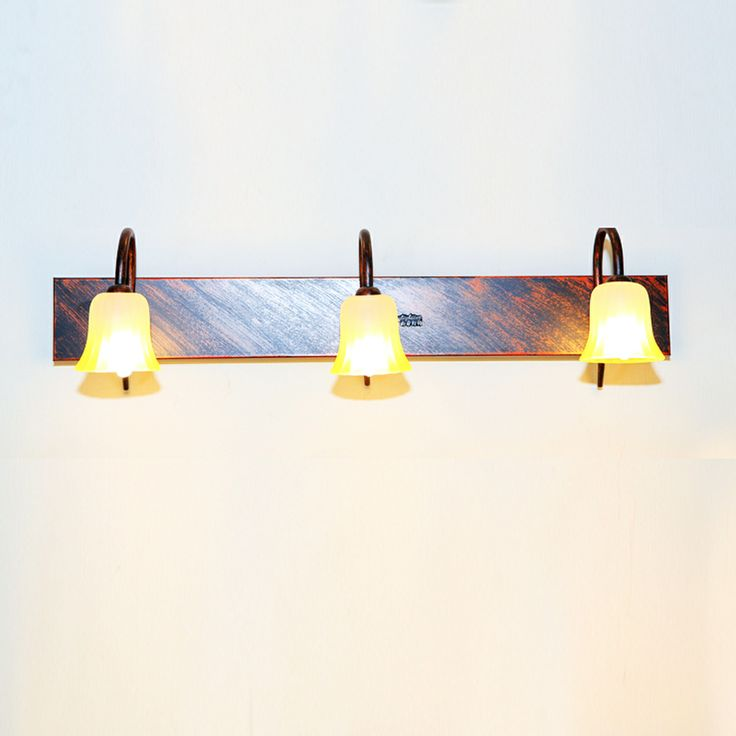 moda eski duvar lambası ayna açık bronz demir banyo başucu duvar lambası aynası aydınlatması