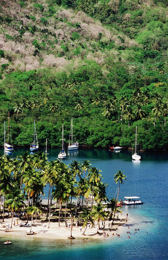 Marigot Bay, St Lucia, visited here eve of my wedding. Will sail back here one day i hope.xx