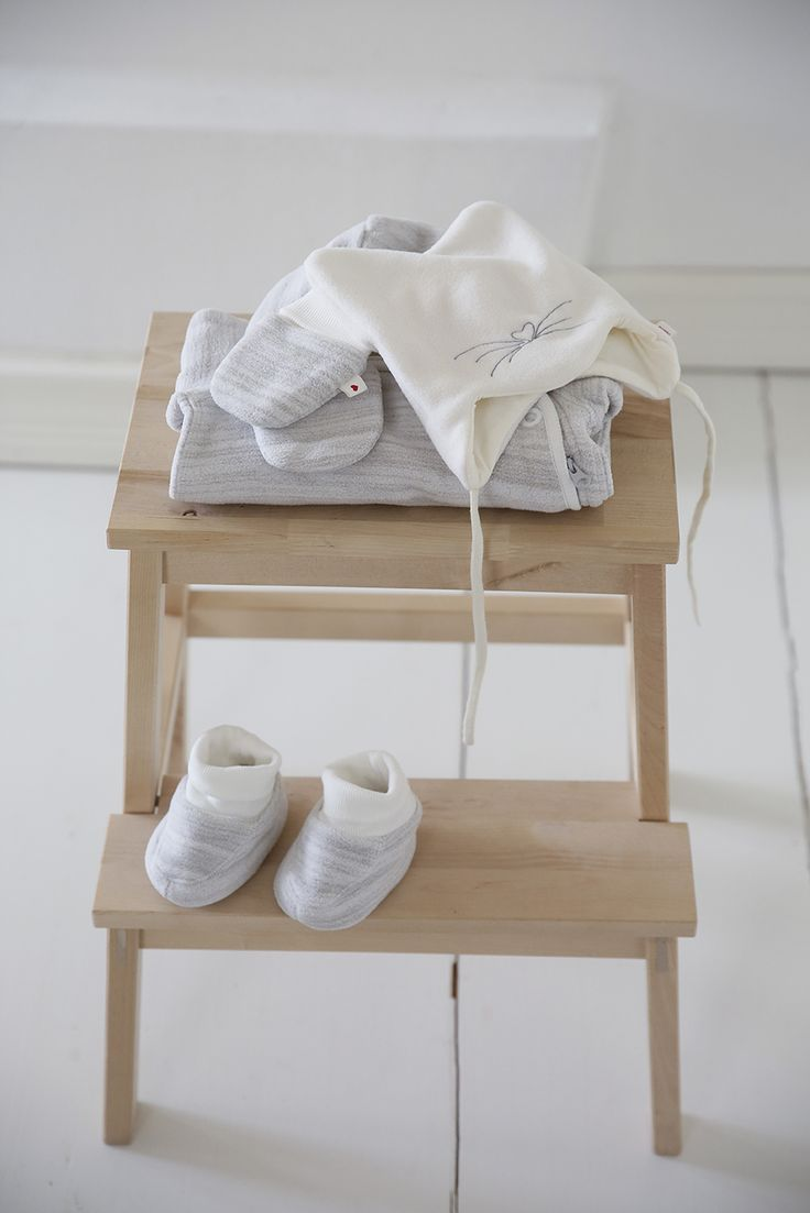 You'll save time to be with your baby if their clothes are easy care and dry quickly. Beautiful and practical!