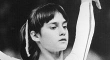 """Nadia Comaneci, who scored the first perfect 10 in Olympic gymnastics history at the Montreal Games in 1976. (She's also famous for doing her floor exercise routine to the theme song from """"The Young and the Restless"""".)"""