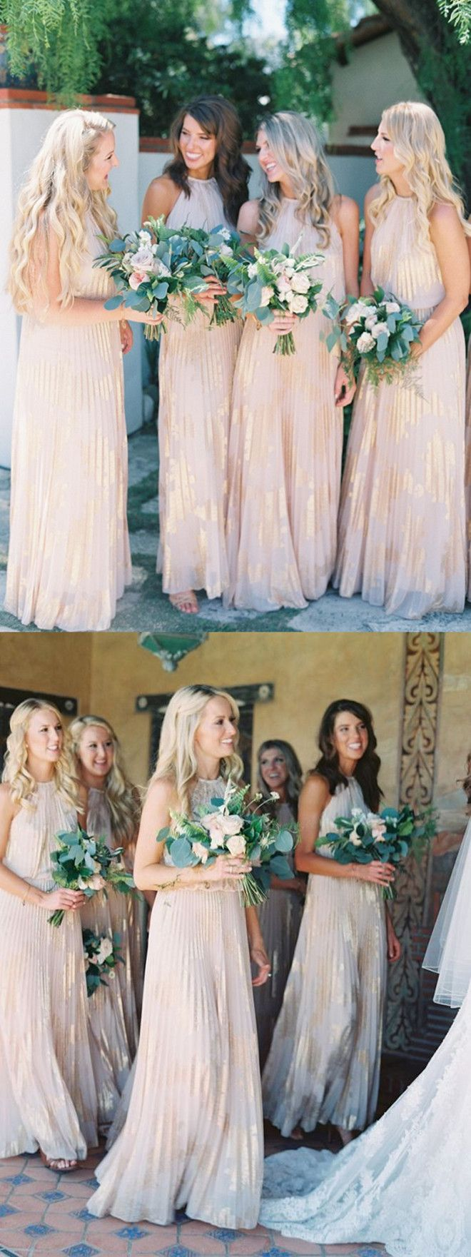 Best 25 champagne bridesmaid dresses ideas on pinterest 2017 bridesmaid dresseslong bridesmaid dresseselegant bridesmaid dresseschampagne bridesmaid dresses ombrellifo Images
