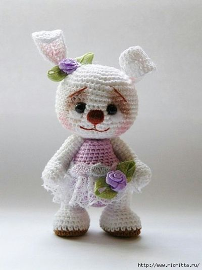 #haken, gratis haak patroon, Nederlands, amigurumi, konijn, knuffel, speelgoed, http://www.ingeniousbyme.com