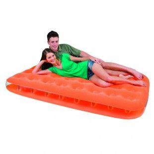 Matelas gonflables 2 personnes Bestway Fashion Orange 191 x 137 x 22 cm