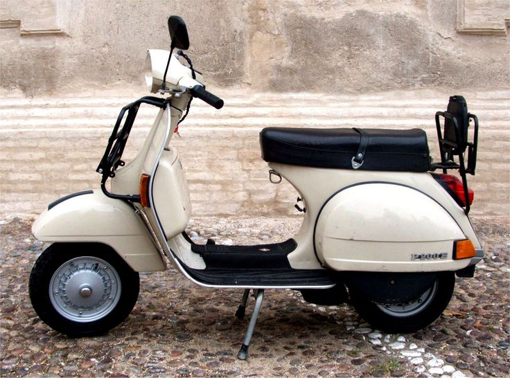 My first pair of wheels!  1979 Vespa P200E