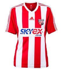 brentford fc home shirt 2013-14