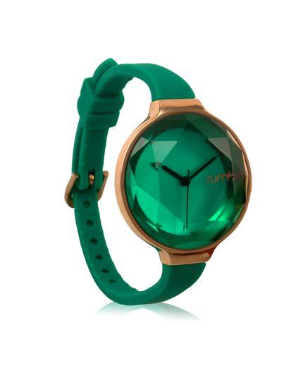 Emerald gem watch // stunning design