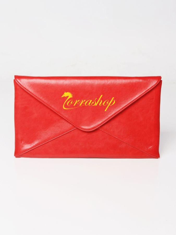 Cantalope clutch bag #clutchbag #taspesta #handbag #fauxleather #kulit #envelope #amplop #fashionable #simple #elegant #stylish #colors #red  Kindly visit our website : www.zorrashop.com