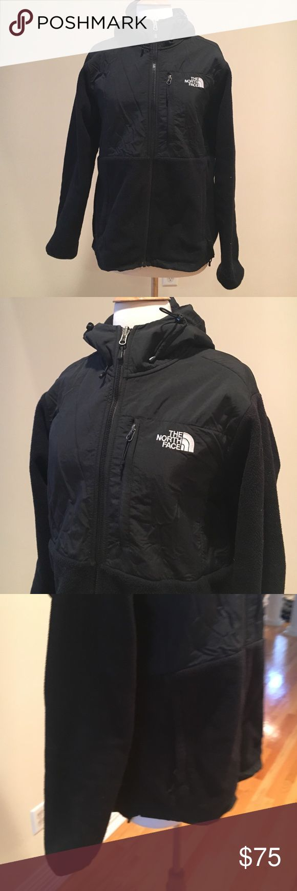 The North Face winter jacket ⭐️Excellent condition. Fleece lined. Hooded. No flaws The North Face Jackets & Coats