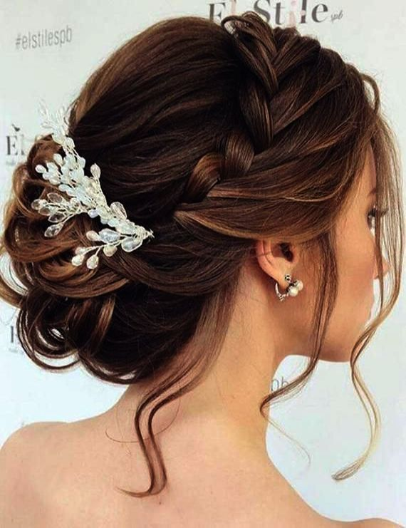 Bridesmaid Hair Down Or Up Wedding Guest Dresses Promgirl But