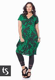 Big Sizes Womens Clothing  - TS14