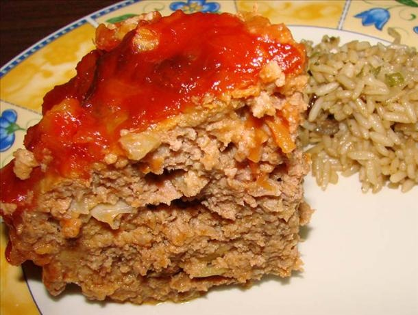 Meatloaf w/Pineapple Topping