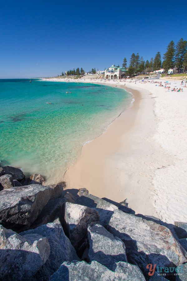Cottesloe Beach in Perth - Western Australia