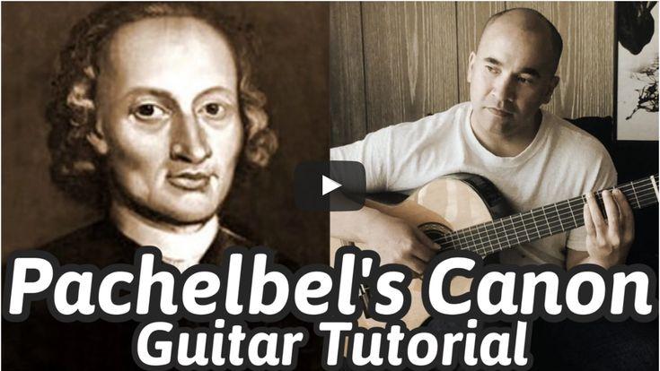 Pachelbel's Canon in D? - Johann Pachelbel Online Guitar Lesson