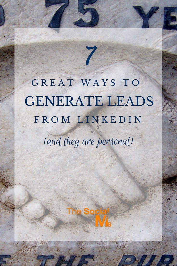7 Great Ways To Generate Leads From
