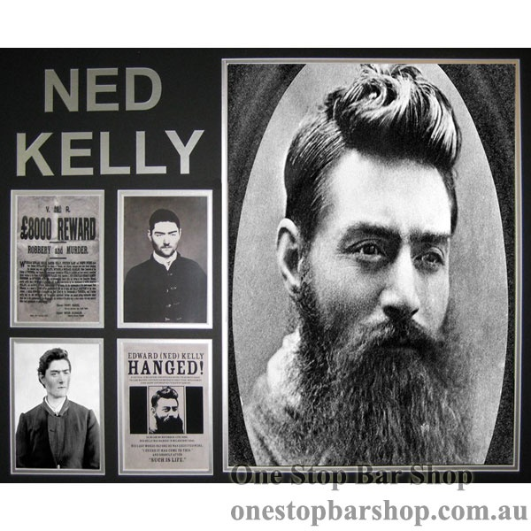Ned Kelly the greatest bush ranger and gentleman in Australia