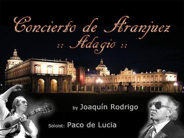 The Adagio Of Concierto De Aranjuez With Overlaid Footage Of Rodrigo And Wife From The Documentary Light And Shadow Joa Paco De Lucía Documentaries Joaquin