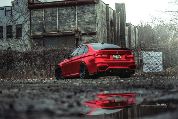 Frozen Red BMW F80 M3 | Brixton Forged Wheels