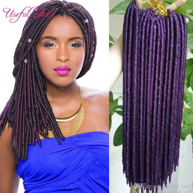 Faux Locs Crochet Braids 1418inch Synthetic Hairbraiding Braid Hairstyles Soft Dreadlocks ...