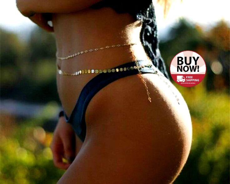 Beach Body Belly Sexy Bikini Chain  centarsko.com/…  Click on the link above t…