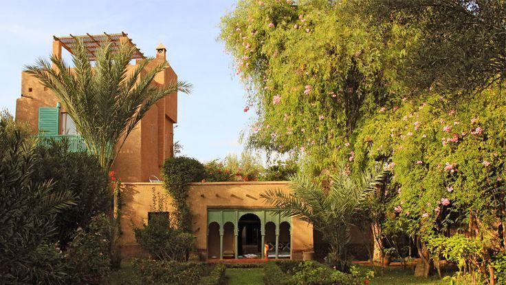Villa Dar Batma in Marrakech - View of the house