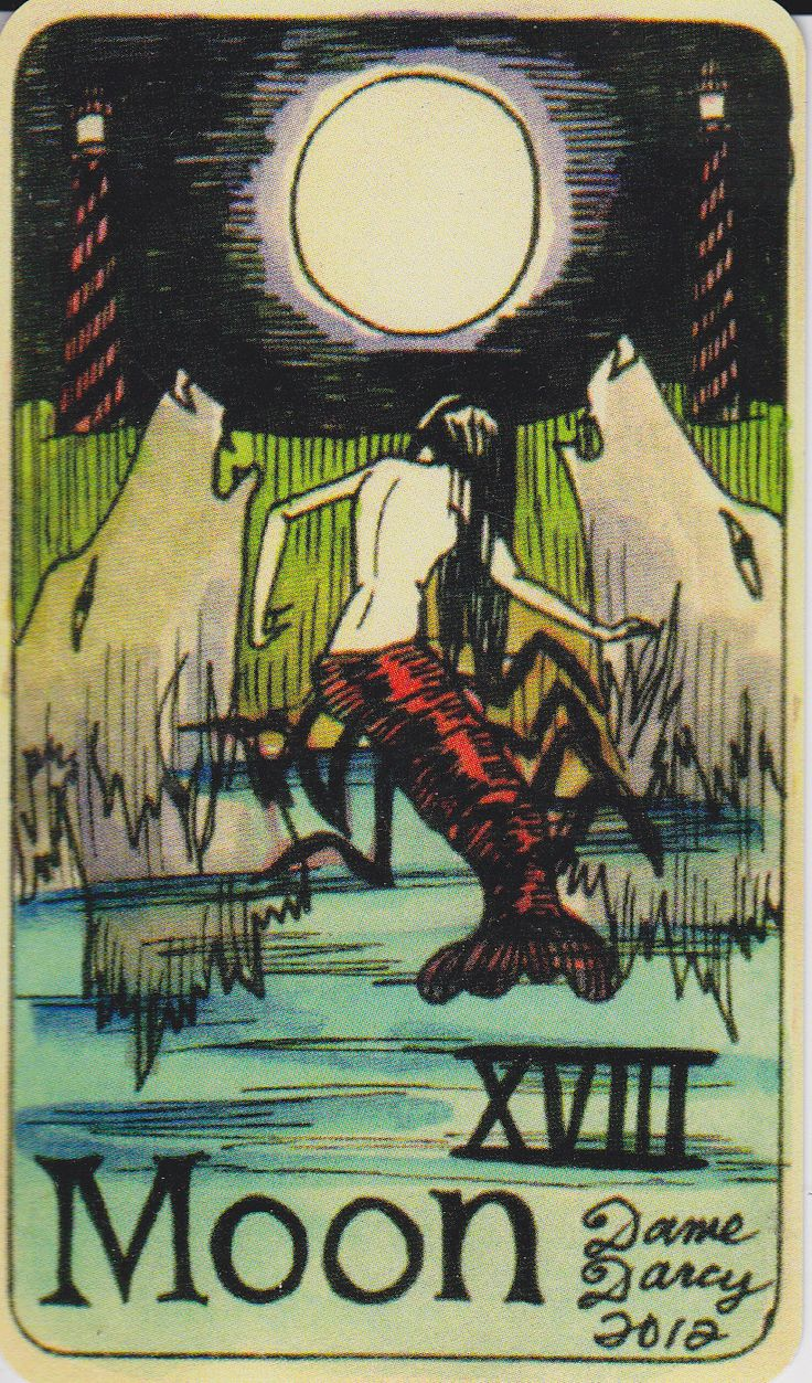Tarot Oracles And Other Signs Along The: 99 Best Images About Mermaid Tarot Cards On Pinterest