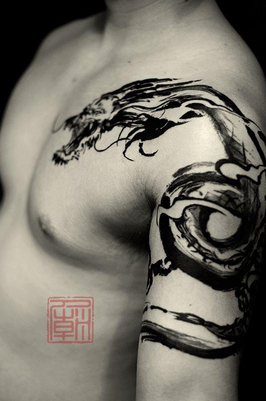 Tatuaggi coi draghi: significato e idee cui ispirarsi