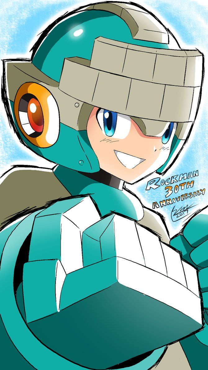 Mega Man 30th Anniversary: New Mega Man by SaitoKun-EXE on DeviantArt