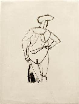 Akt, 1912 Paul Klee