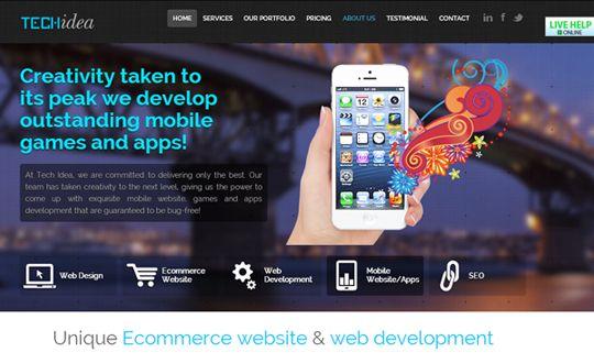 Web development by http://www.techidea.co.nz/
