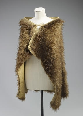 Maori feather cloak presented by Maori Chiefs to Queen Elizabeth II at Arawa Park, Rotura, New Zealand, in 1953.