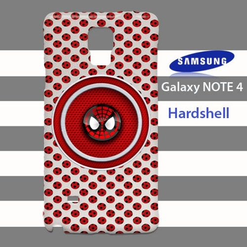 Spider Man Face Hole of Metal Samsung Galaxy Note 4