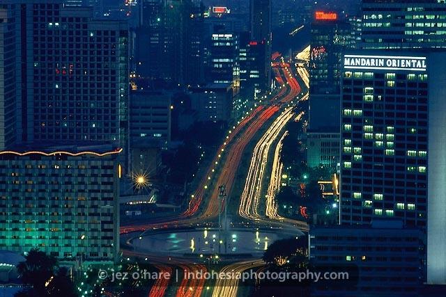 Hotel Indonesia Roundabout, Thamrin, Jakarta, Java, Indonesia.