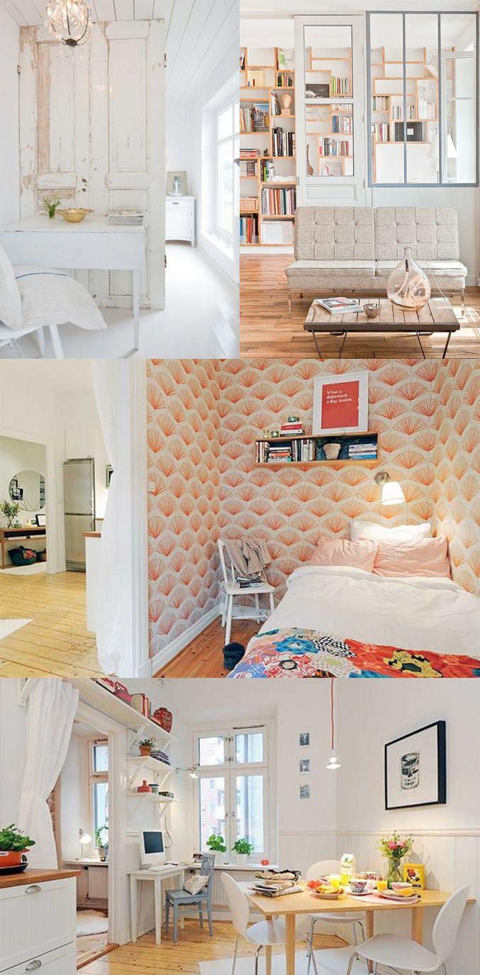 1000 idee n over klein wonen op pinterest decoreren kleine ruimtes kleine ruimte meubelen en - Meubelen om te schilderen zichzelf ...