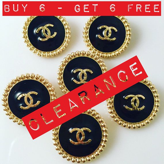 Buy 1 Set Get 6 Buttons Free Sale Set x 6 23mm or 20mm