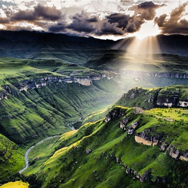 #south #africa #beautiful #nature #paradise #valley