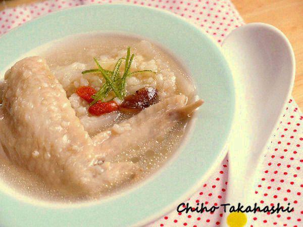 炊飯器で簡単!雑穀入り参鶏湯風スープ by 高箸 ちほ | レシピサイト ...