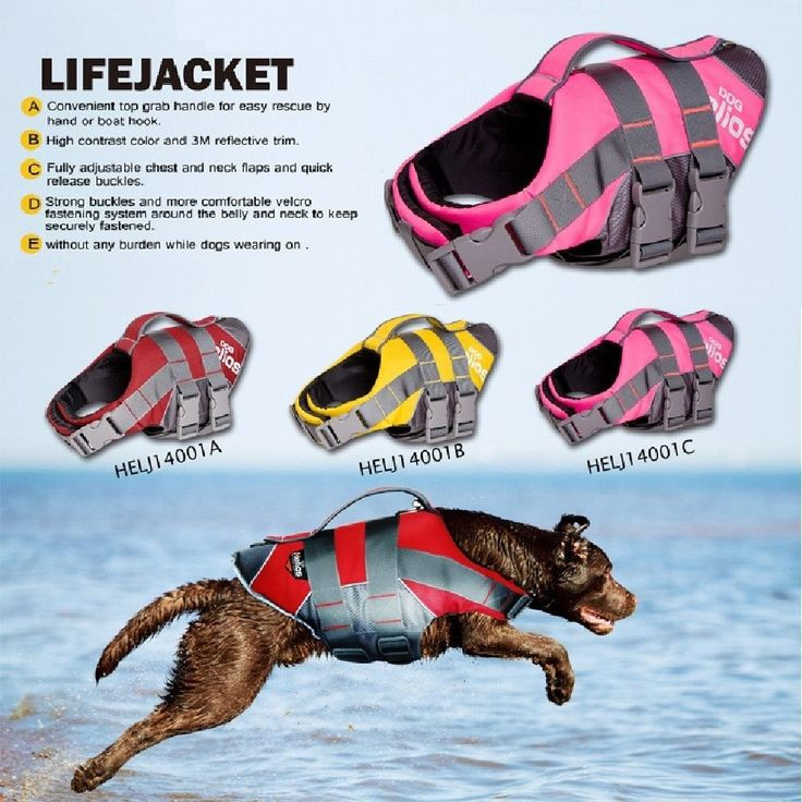 Pet Preserver Water Safety Vests for Dog Life Jacket Pets Swimming  #pets #safety