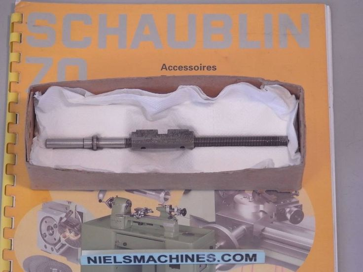 Schaublin 70 Screw and Nut for Top Slide (NOS)  Nielsmachines.com selling quality tools worldwide is specialized in small lathes, accessories and watchmaker's tools.  #nielsmachines #Schaublin #Emco #Bergeon #Lorch #Boley #Aciera #SIP #Hommel #Isoma #Tesa #Deckel #Measurement #tools #Lathe #Drehbank #Uhrmacher #watchmaker #Collets #Chucks #Millingmachine #Machinelighting #Seitz #Mitutoyo #Centeringmicroscope #Swiss #Quality #Mini-lathe #benchmill
