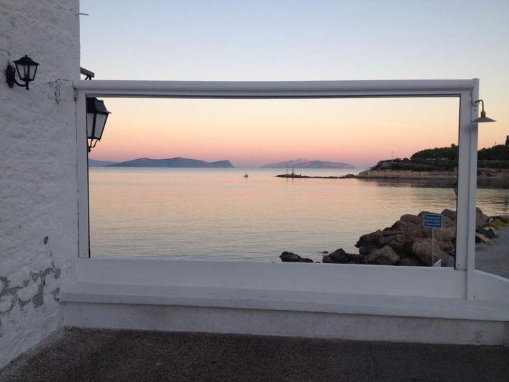 Spetses Island CinemaScope