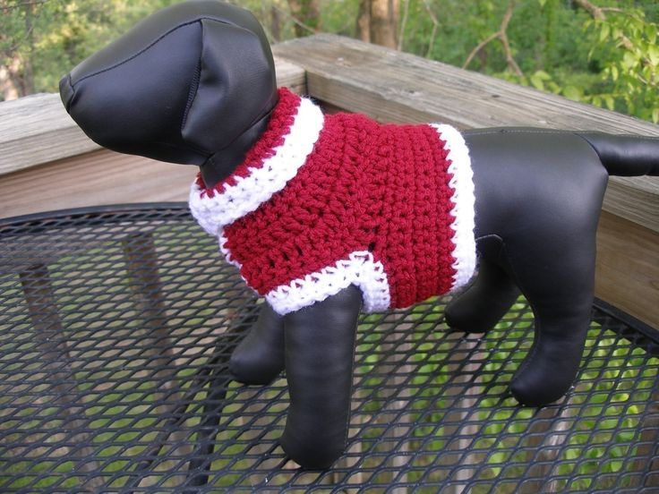 Free Crochet Pattern - Basic Crochet Sweater for Chihuahua from