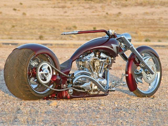 s & s outlaw customs pro street motorcycle