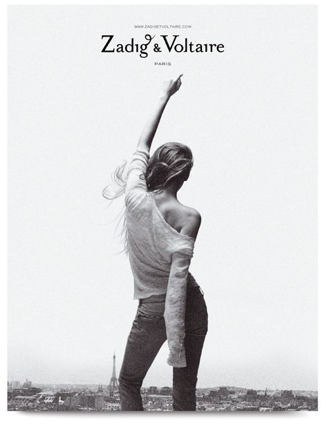 One of my favorite ads EVER from Zadig & Voltaire