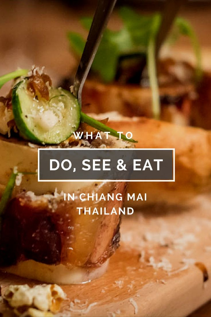 The best Chiang Mai Attractions as told by travel experts. Learn the best things to Do See and Eat (plus where to eat as well) In Chiang Mai Thailand.
