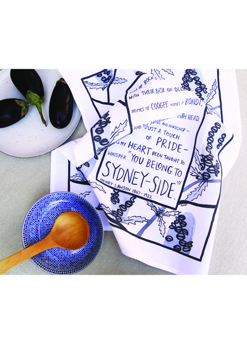 Australia Destination Tea Towel - Sydney Souvenir