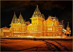 The Royal Residence of Tsar Alexis I in Kolomenskoye, Moscow photo by Alexander Aksenov.Russian Fairies, Tales Wooden, Moscow Photos, Imperial Russia, Alexander Aksenov, Russian Palaces, Royal Resident, Fairies Tales, Artsy Architecture